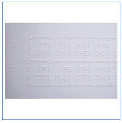 Tabla periódica Braille - $125,00